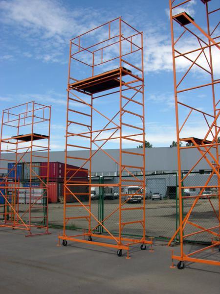 Строительные вышки-туры, размер площадки 0,8м х 2,0м