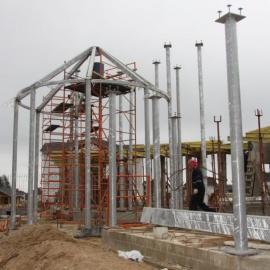 Металлокаркас для частного строительства